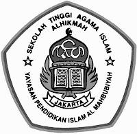 Logo STAI AL-HIKMAH [hitam-putih]